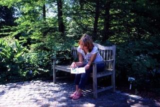 Besuch im botanischen Garten