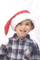 Christkind, kleiner Junge zu Weihnachten 2