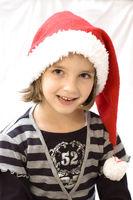 Christkind, kleines Mädchen zu Weihnachten 1