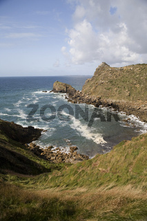 Steilküste in der Bretagne