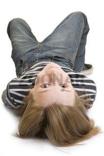 Kopfüber liegen