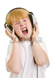 Lauthals singen