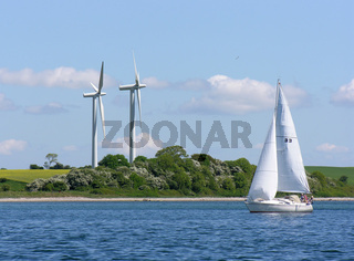 Windkraft in der Flensburger Förde