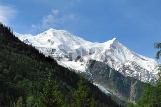 Montblanc von Chamonix