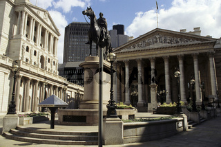 London, The City, Bank of England