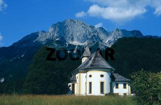 Kirche von Hochthron in Etternberg bei Berchtesgaden