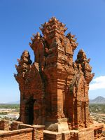 Cham-Turm in Vietnam