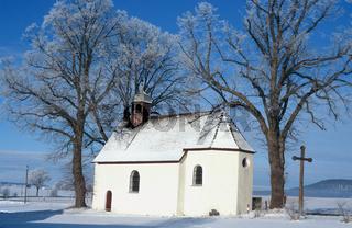 Kapelle am Ortseingang von Melchingen