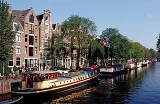 Hausboote, Niederlande, Holland, Amsterdam, Houseboats, The Netherlands,
