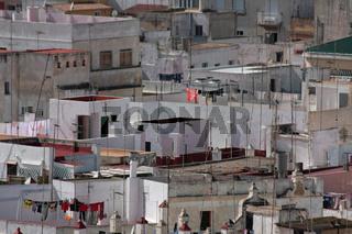 Daecher in Cadiz. Andalusien