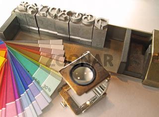 Druckhandwerk/printing industry