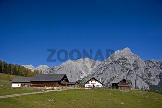 Walderer Alm / mountain hut