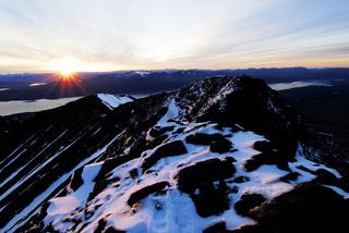 Blick vom höchsten Gipfel des Akkamassives