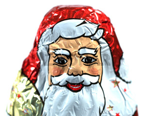 Schokoladenweihnachtsmann | chocolate Santa Claus