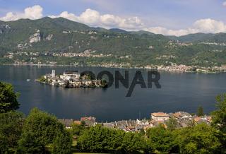 Lake Orta, Italien