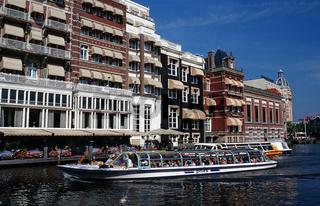 Grachtenrundfahrt, Canal Boat Ride, Niederlande, Holland