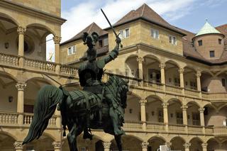 Reiterstandbild Altes Schloss Stuttgart