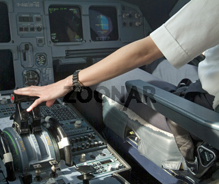 Cockpit Airbus A320