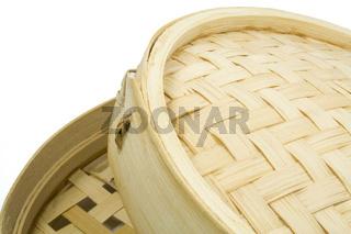 Asiatischer Bambusdämpfer