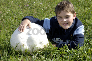 Giant Puffball   Riesenbovist