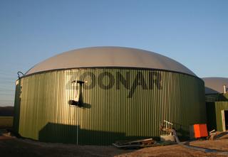 Biogas Plant / Biogasanlage