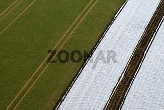 Agriculture from above / Acker von oben