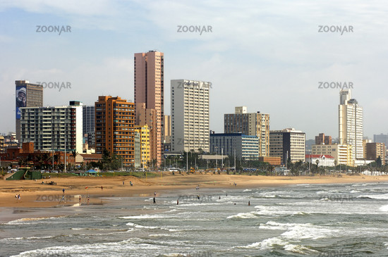 Golden Mile beach, Durban