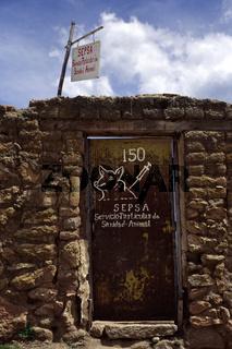 puerta sepsa. bolivien