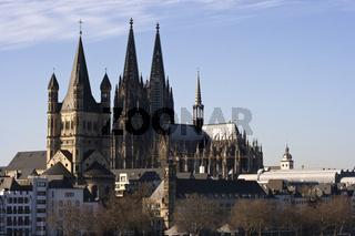 Köln, Altstadtpanorama