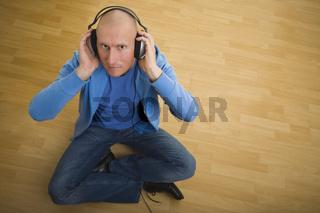 Sitzen und hören