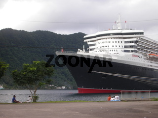 QM2, American Samoa, Cunard, Pago Pago