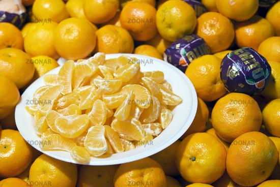 diät mit orangen