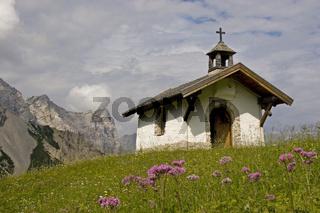 Kapelle im Halleranger Tal / little chapel