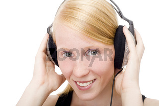Der Musik lauschen