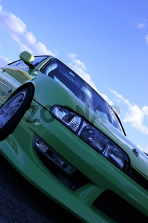 Nissan blue