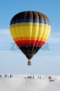 Ballonfestival,New Mexico,White Sands