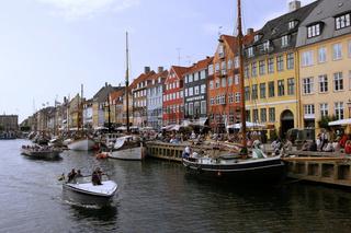 Traditionsschiffe im Nyhavn von Kopenhagen