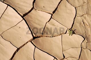 Ausgetrockneter Boden, Sahara, Libyen