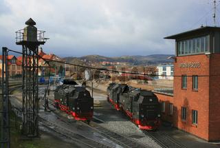 Dampfbahnhof