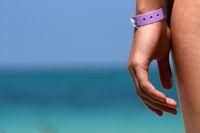 Hand am Strand