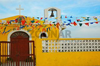 Church near Merrida, Yucatan, Mexico