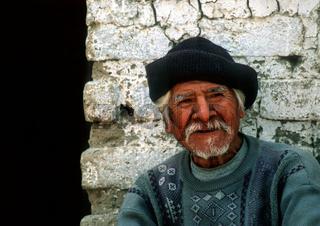 old man in peru / Alter Mann in Peru