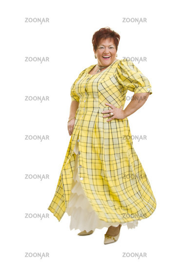 Dancing in the dress