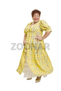 Tanzen im Kleid