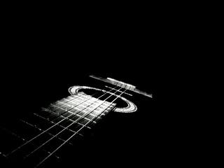 Schwarze Gitarre