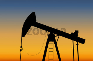 Oil pump | Ölförderung (Vector)