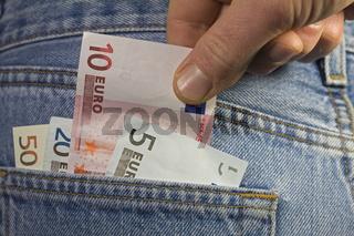 Vorsicht Taschendieb/ Pocket robbery
