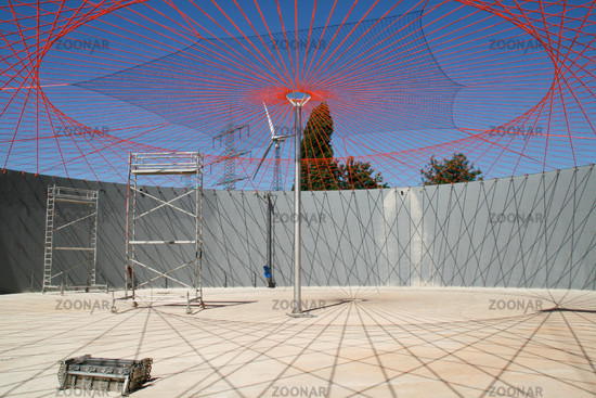 Biogas digester construction