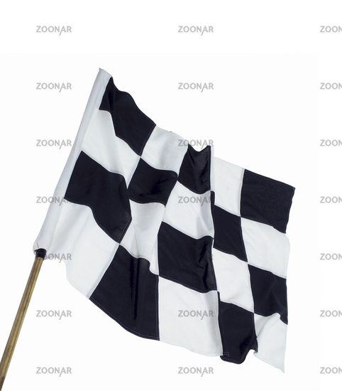 The checkered flag