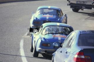Rallye Monte-Carlo Historique, cars chasing